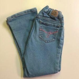 Jordache boot cut 5T girls jeans